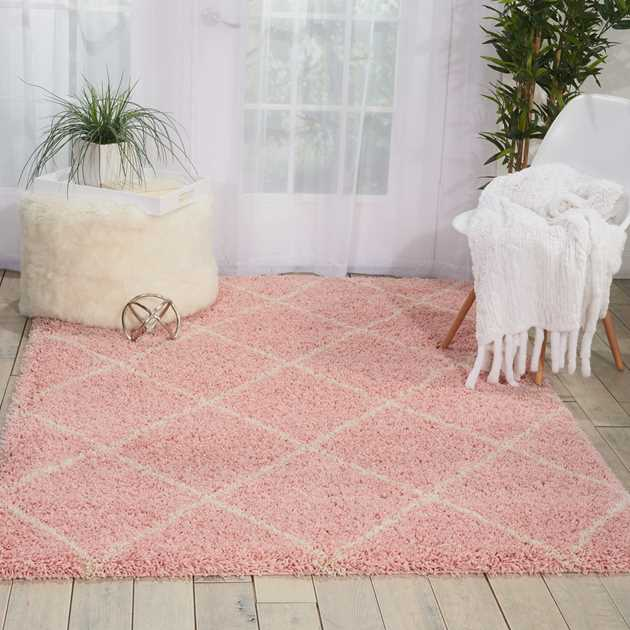 Brisbane Rugs BRI03 in Blush