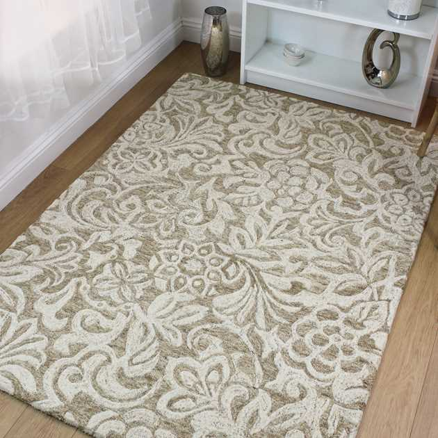 Balham rugs in Natural