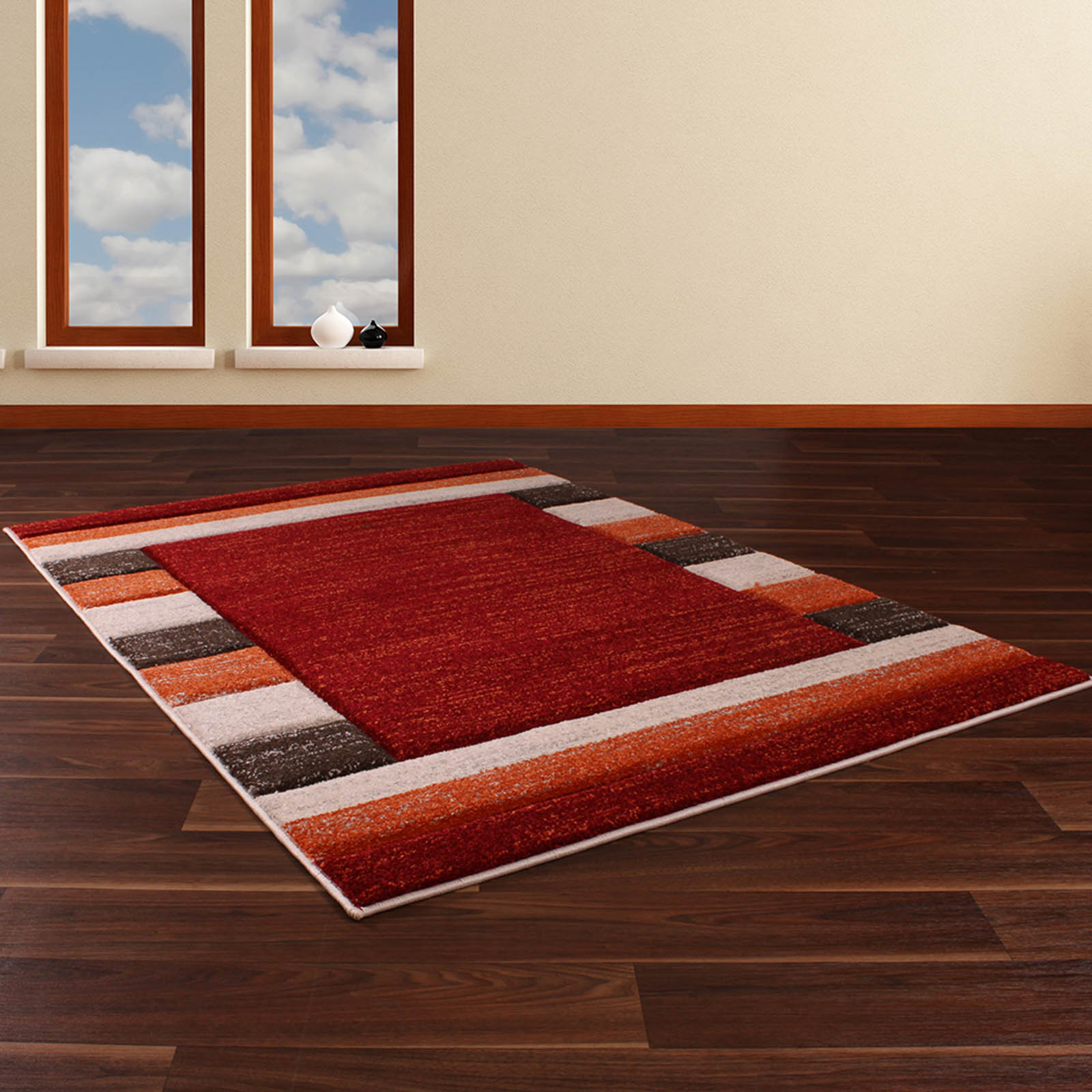 Bali Rugs 871 in Red
