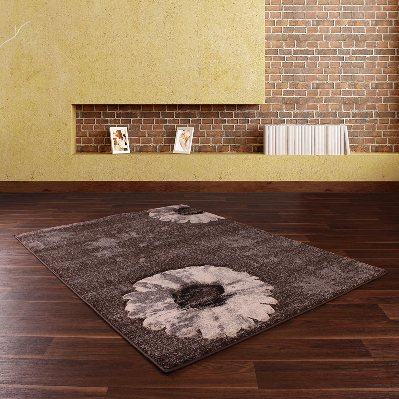 Bali Rugs 877 in Brown