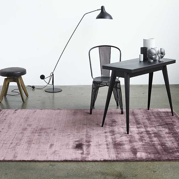 Bamboo Rugs in Plum by Massimo