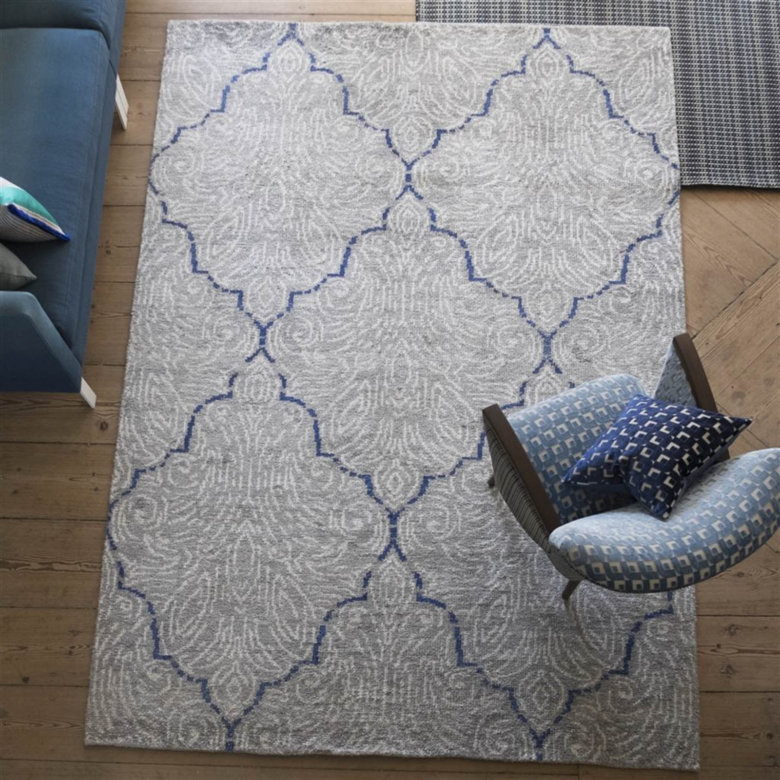 Basilica Chalk Rug by Designers Guild