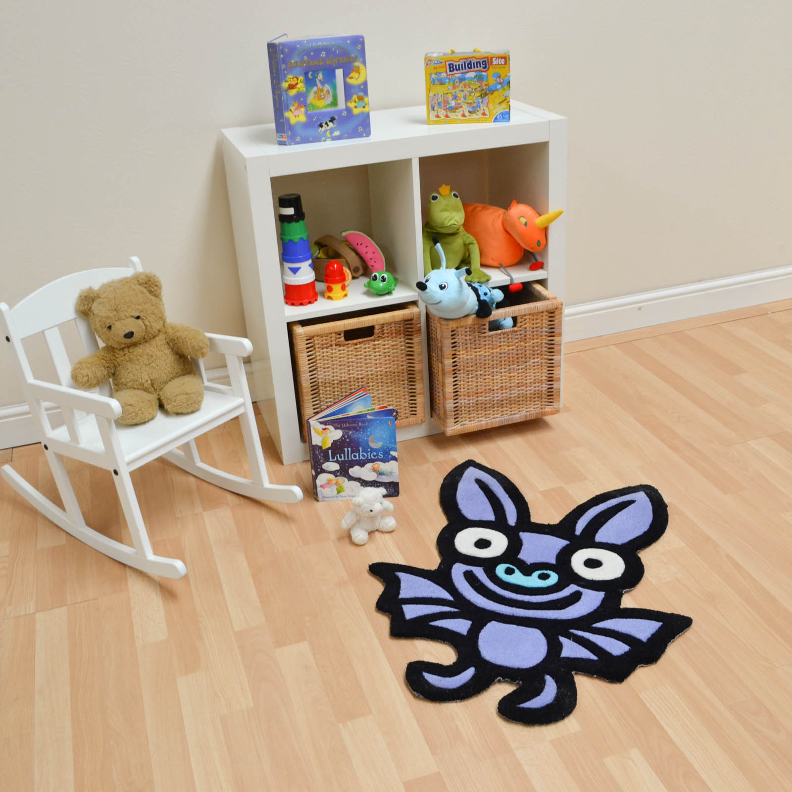 Kiddy Bat Rugs in Purple