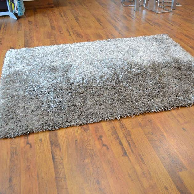 Lounge Collection Beat Shaggy Rugs 11 Natural Free Uk