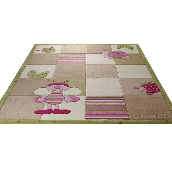 Bee Rug 2844 03 - Beige White