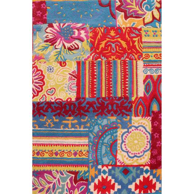 Fusion Biscay Multicoloured Rugs