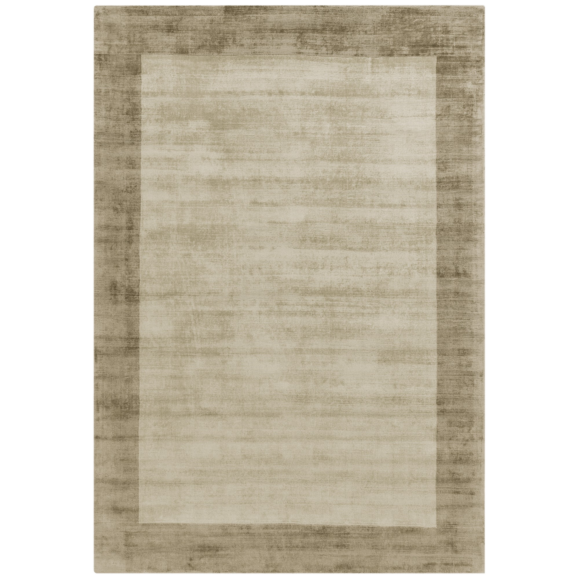 Blade Border Rugs in Smoke Putty