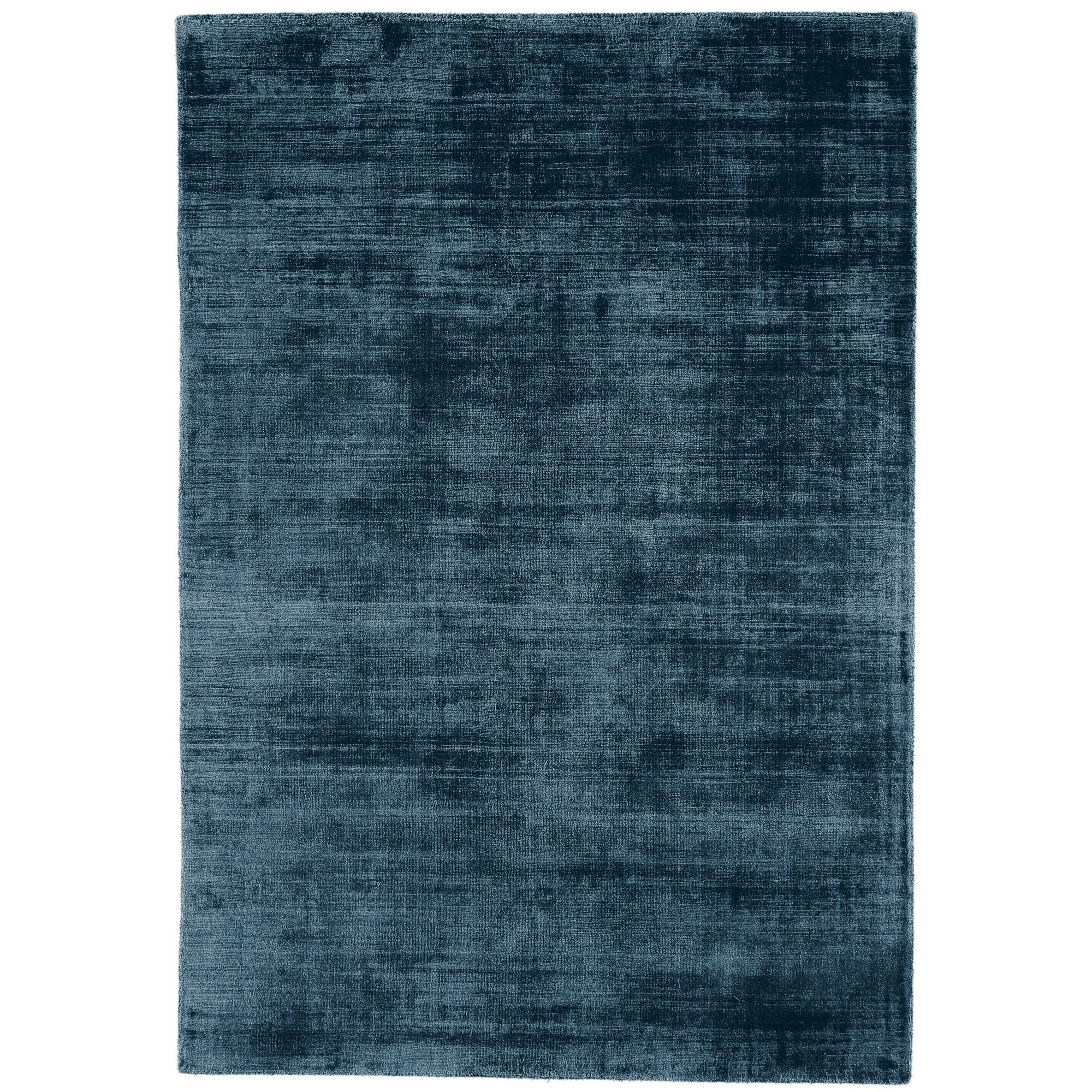 Blade Plain Rugs in Teal