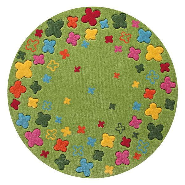 Bloom Field Rug 2980 02 - Green