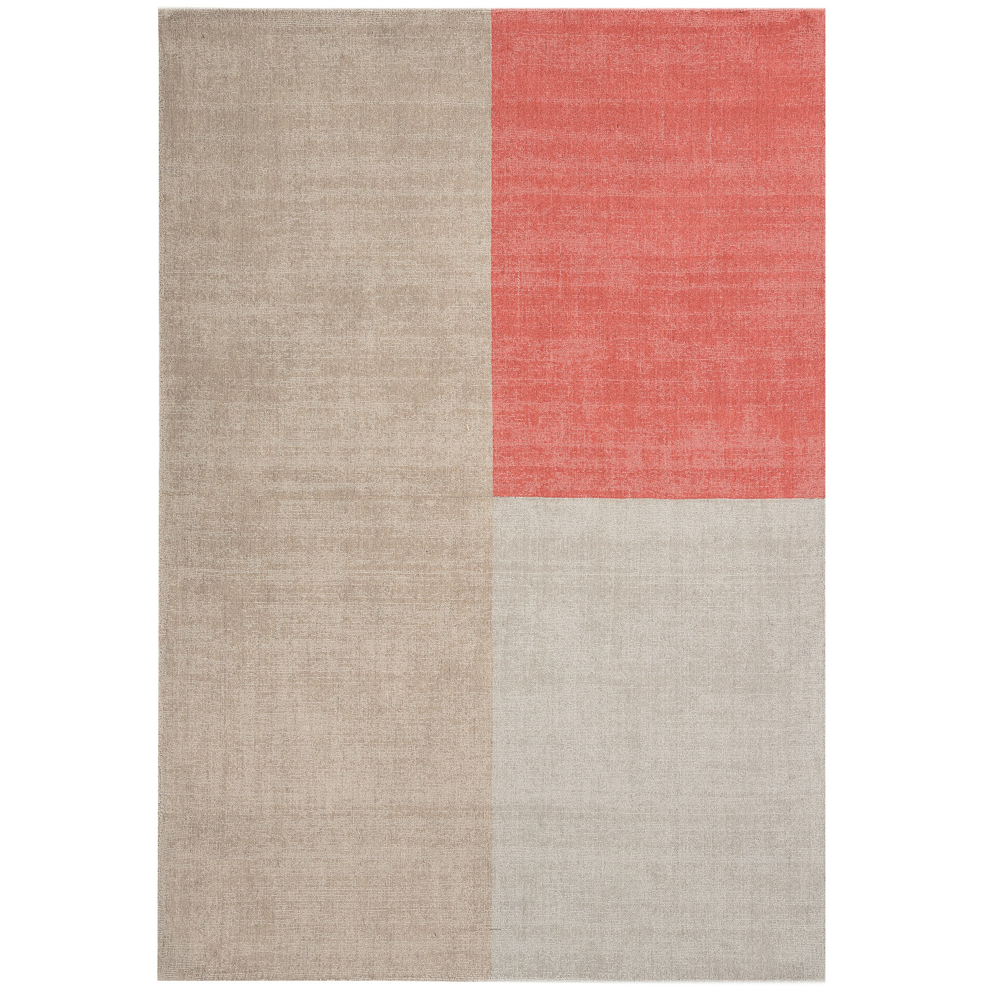 Blox Rugs in Coral