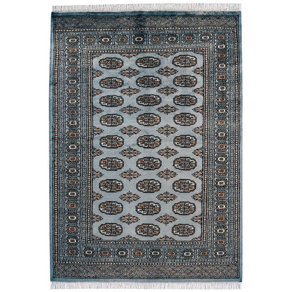Pakistan Bokhara Rugs In Red: Traditional Hand Knotted Pakistan Wool Rug