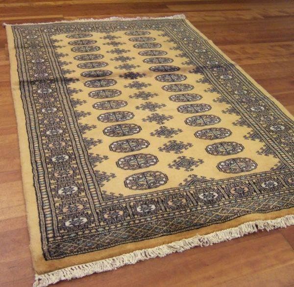 Bokhara Rugs In Gold
