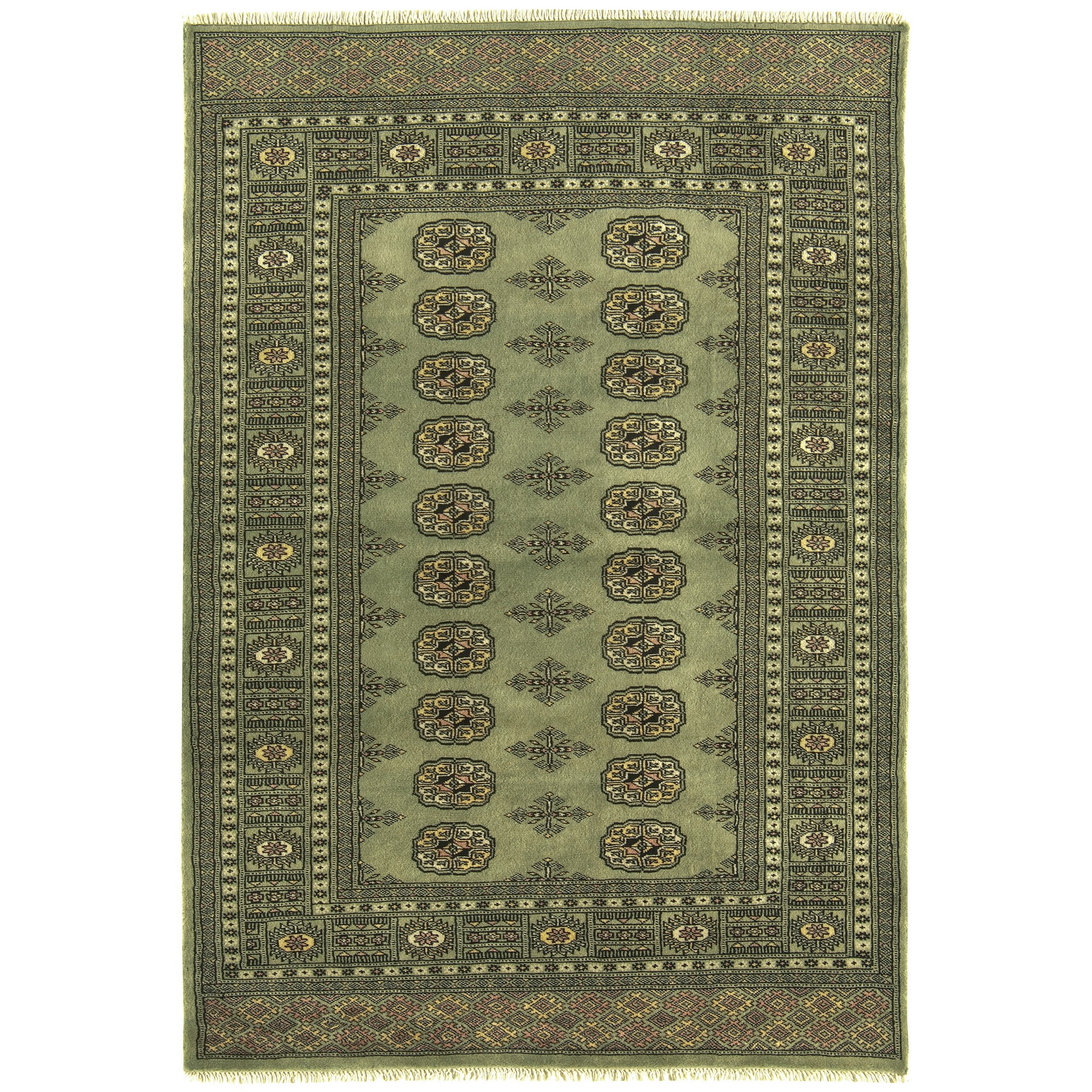 Awesome Bokhara Rugs In Green