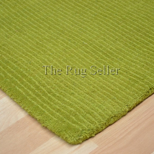 Lime Green Overdyed Rug: Brighton Plain Lime Green Wool Rugs Buy Online From The