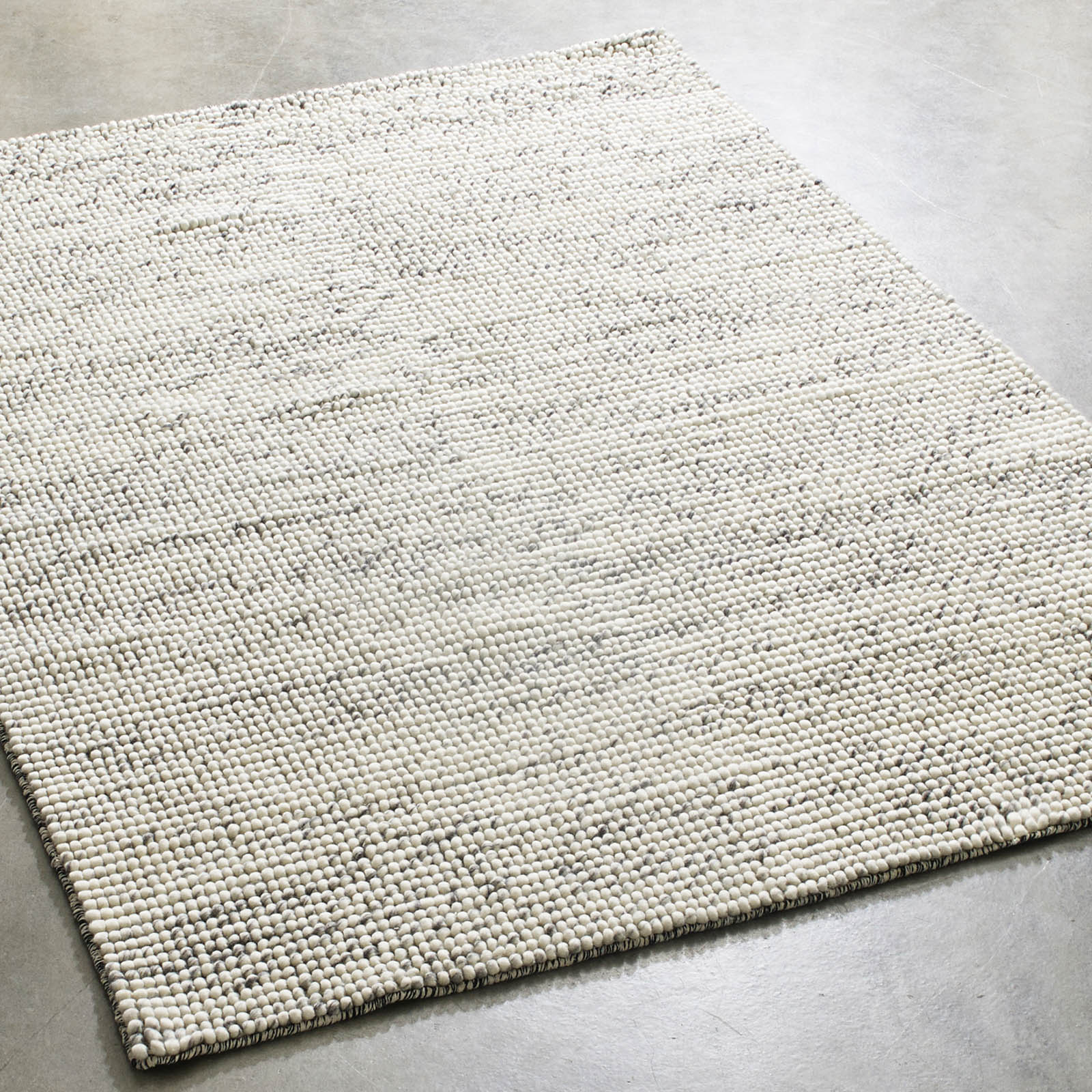Bubbles Rugs in Mixed Grey by Massimo