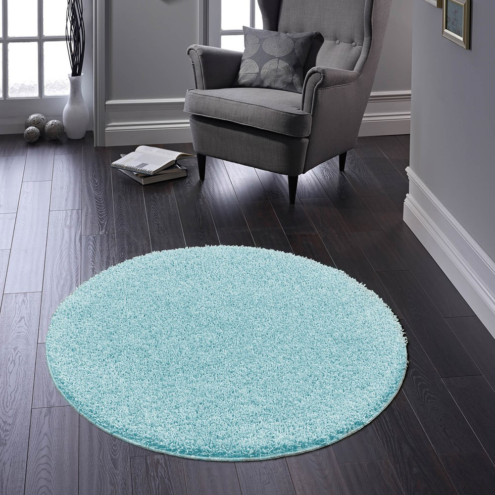 Buddy Washable Round Rugs In Baby Blue Buy Online From The