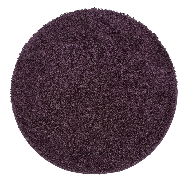 Buddy Washable Round Rugs In Purple Buy Online From The