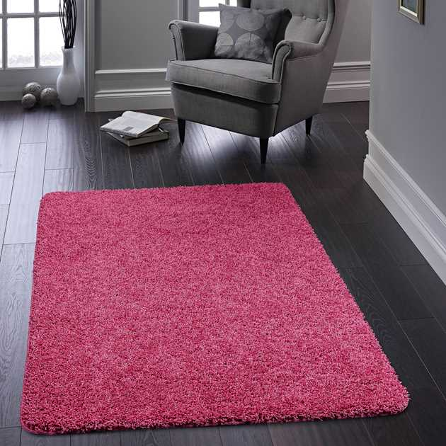 Washable Rugs Pink: Buddy Washable Rugs In Pink