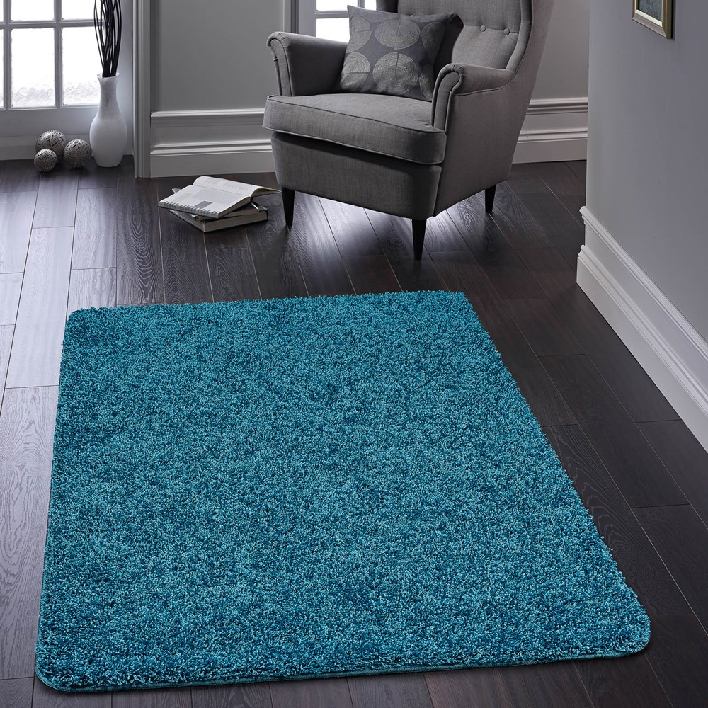 Large Washable Rugs Uk: Buddy Washable Rugs In Teal Buy Online From The Rug Seller Uk