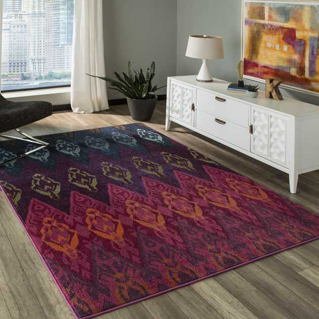 Casa rugs CAS8 by Momeni in Multi-colours