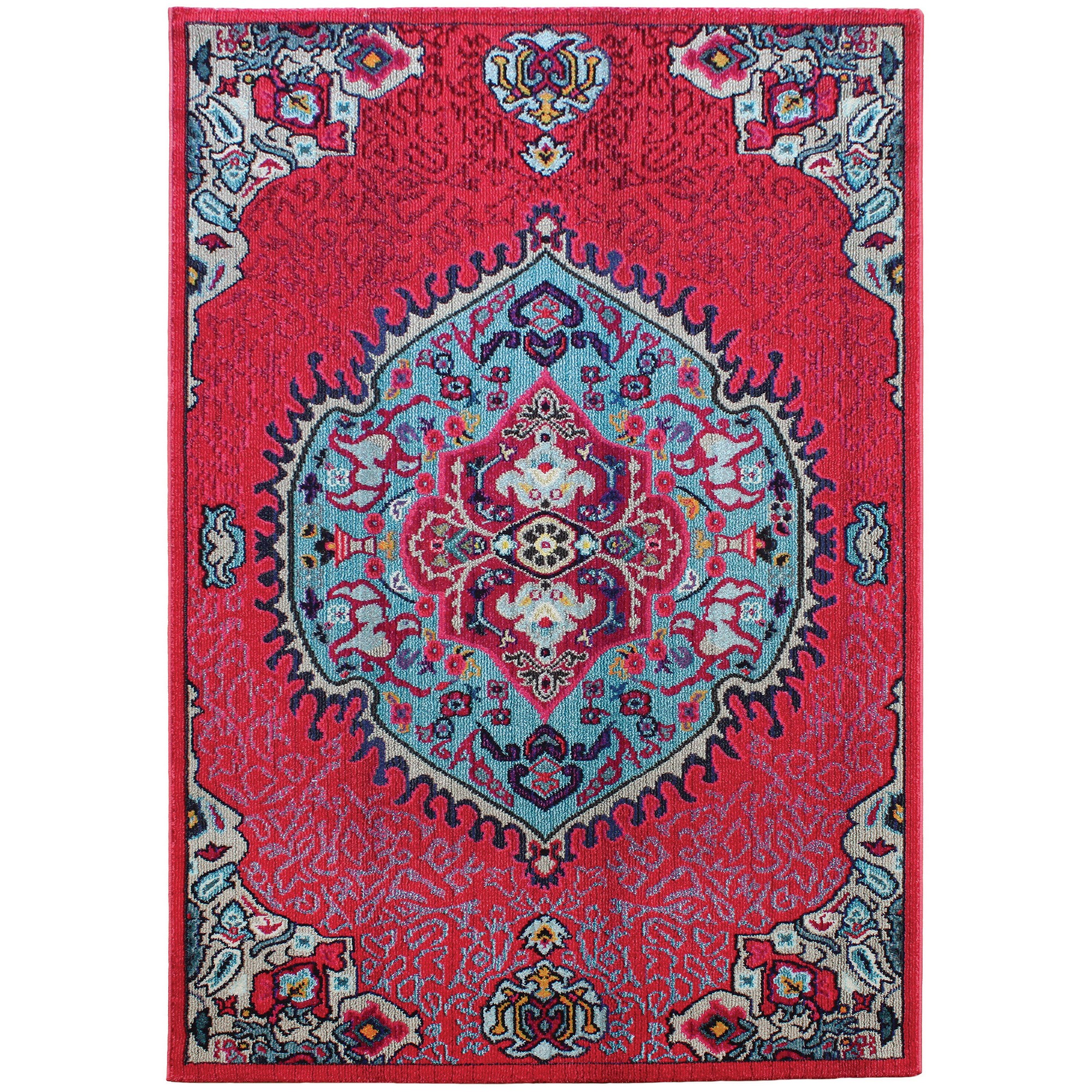 Colores Rugs COL05 Pink