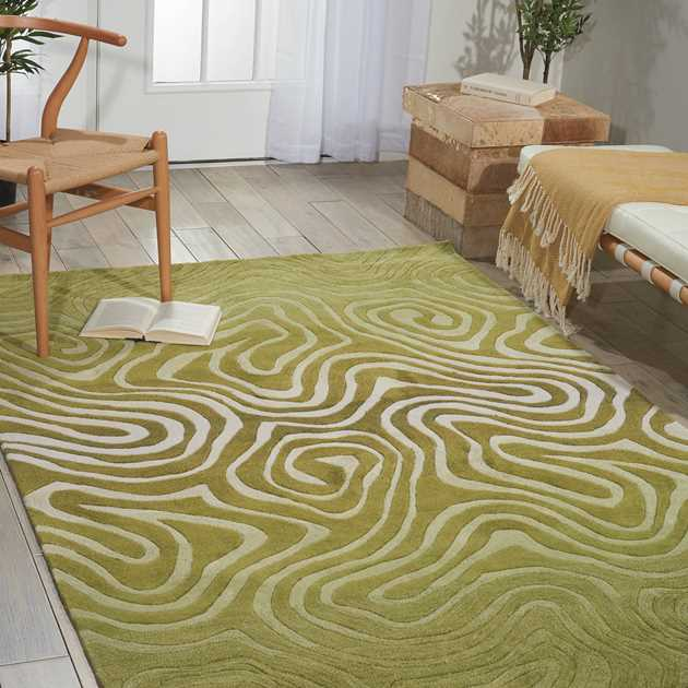 Contour Rugs CON24 Avocado Green