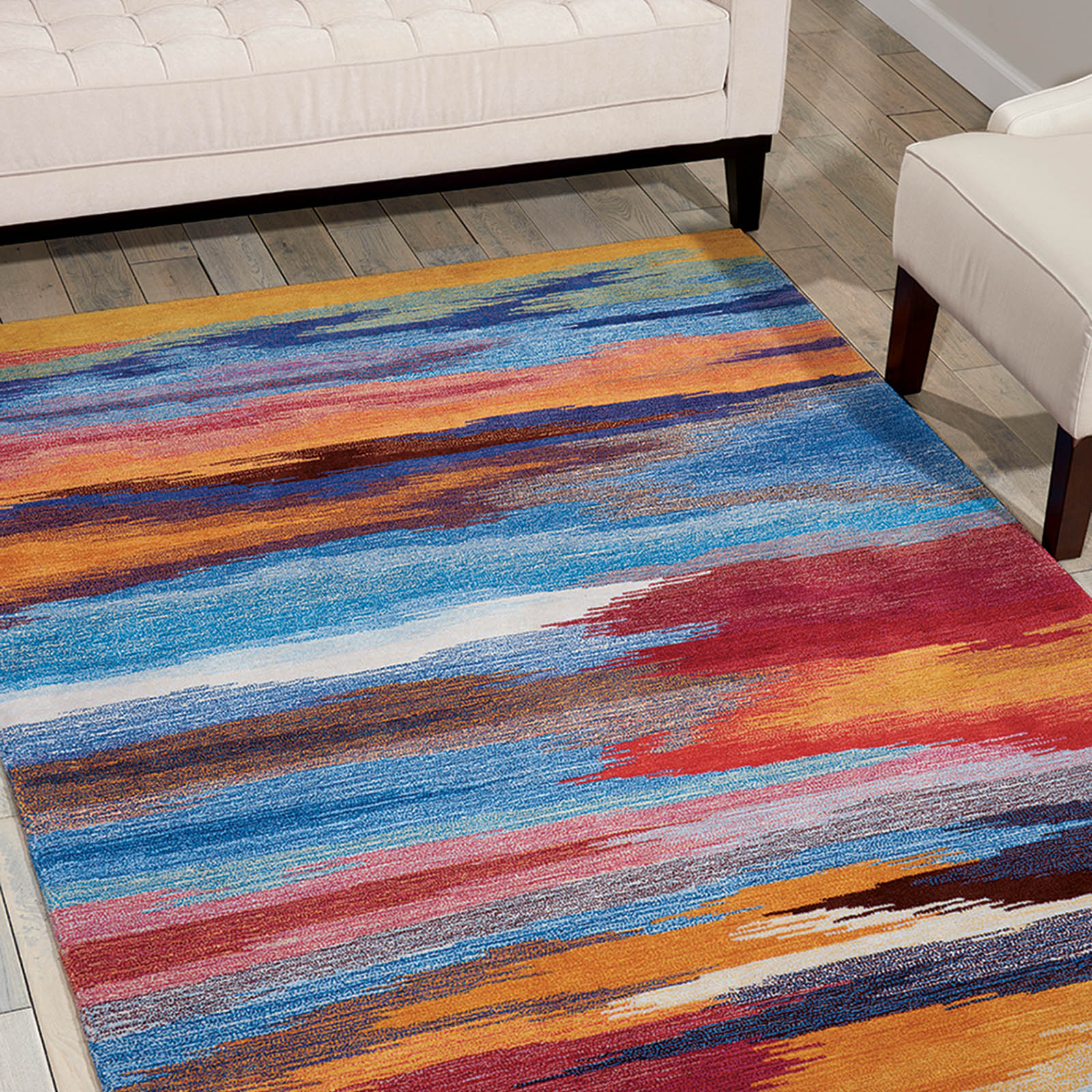 Contour Rugs CON78 in Sunset