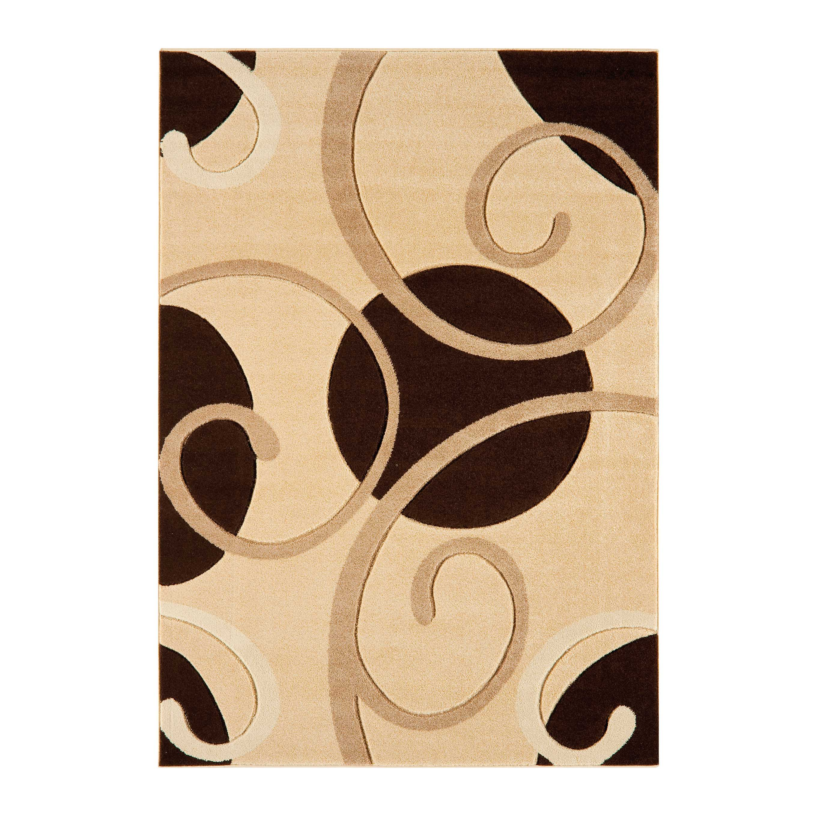 Couture Rugs COU05 in Beige and Brown