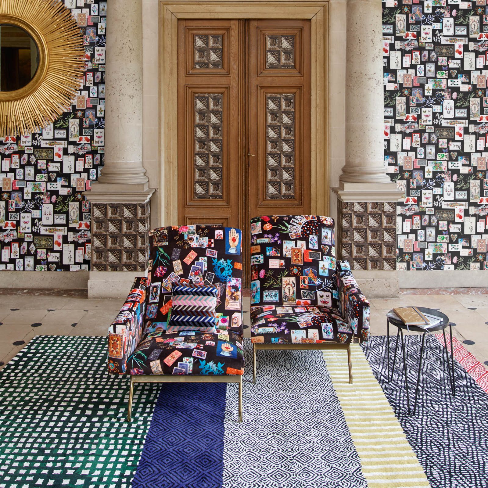 Cabane Mediterranee Rugs by Christian Lacroix