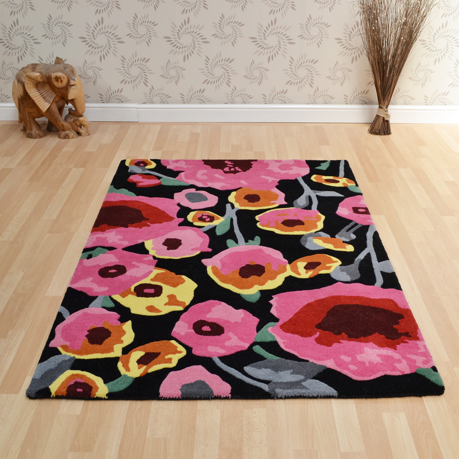 Matrix Calisto Rugs MAX29 Black