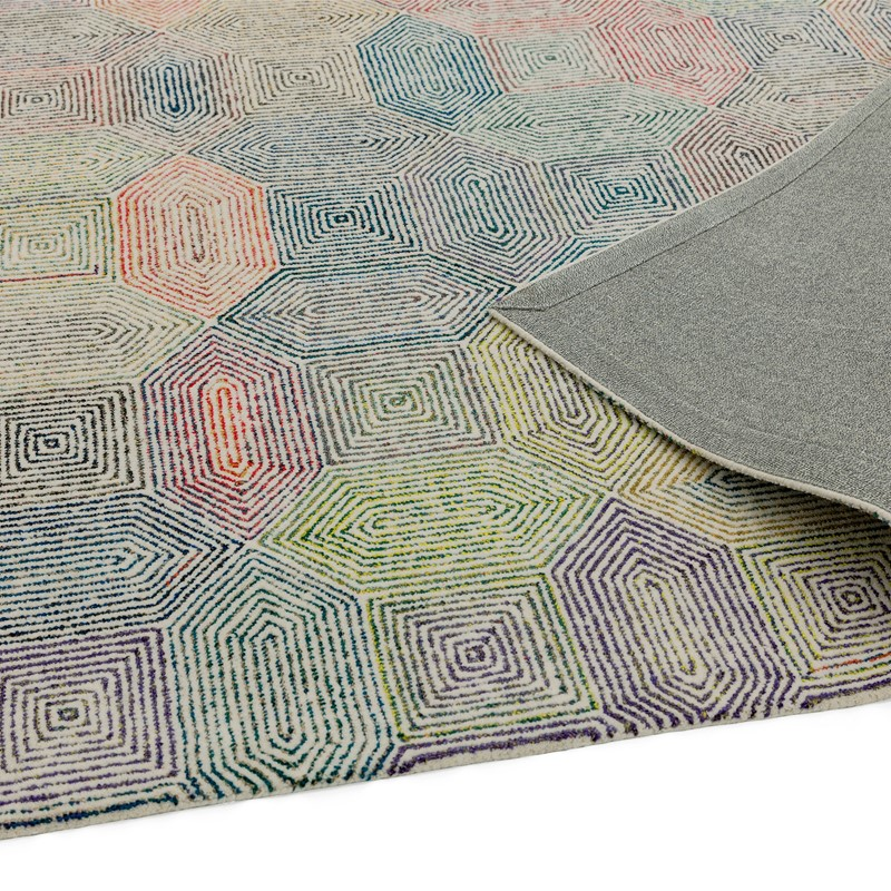 Camden Rugs In Cream And Multi Buy Online From The Rug