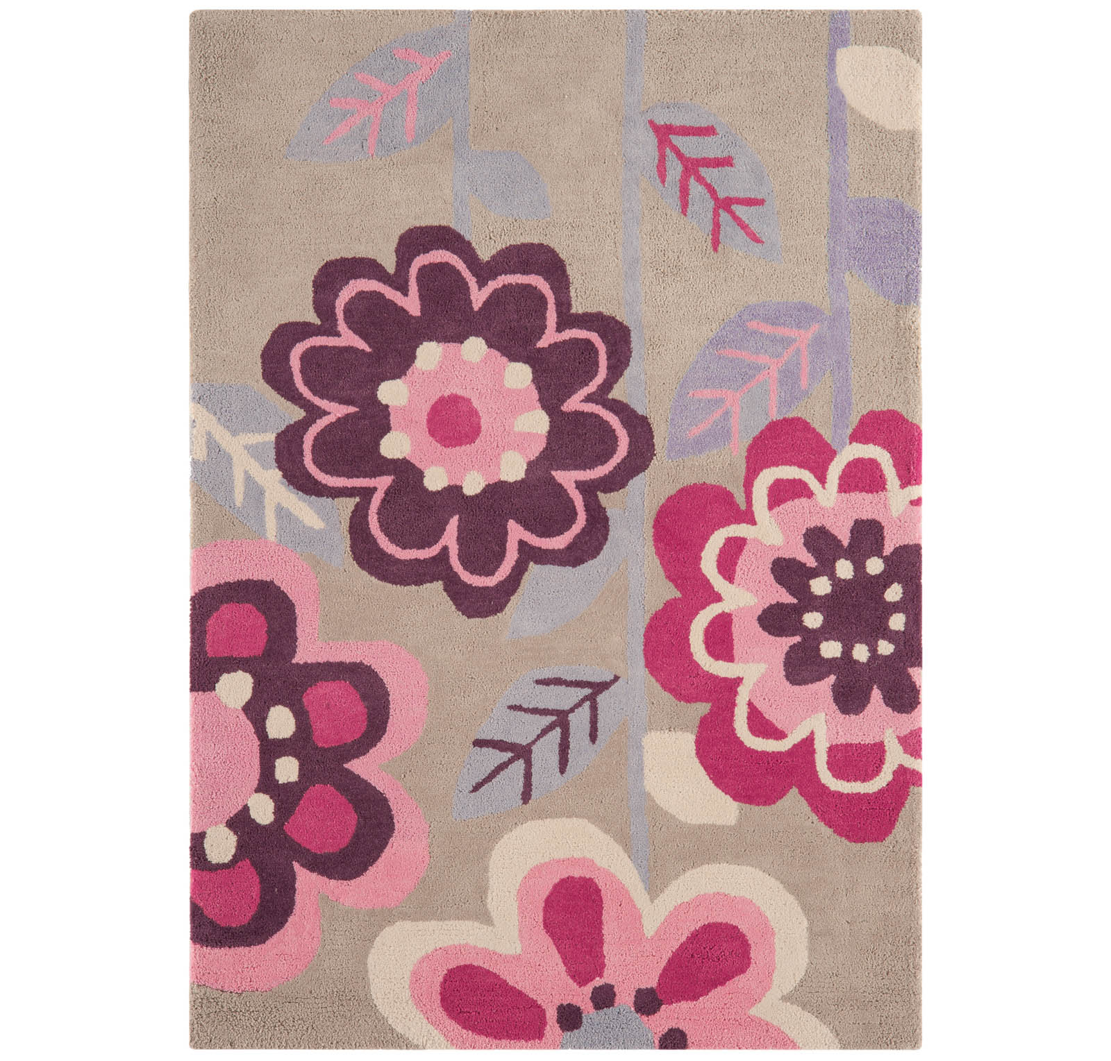 Candy Flower Rugs CC07