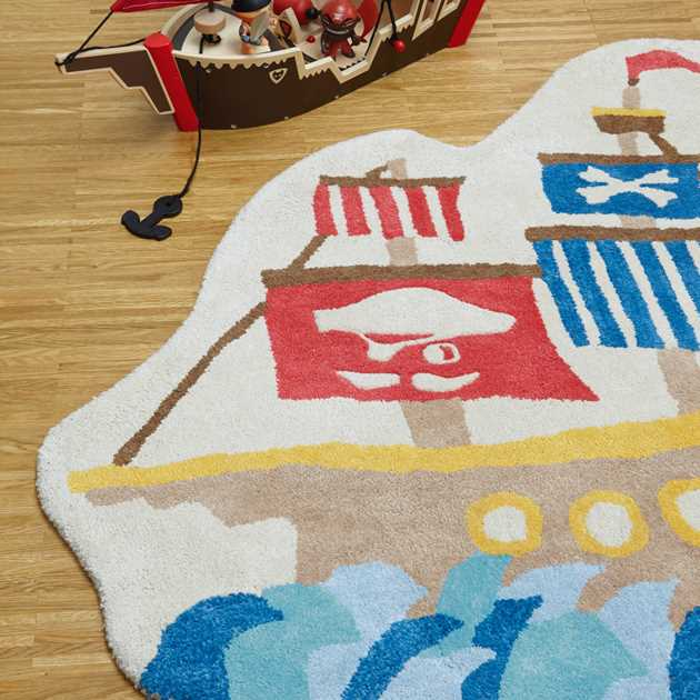 Candy Pirate Ship Rugs CC05