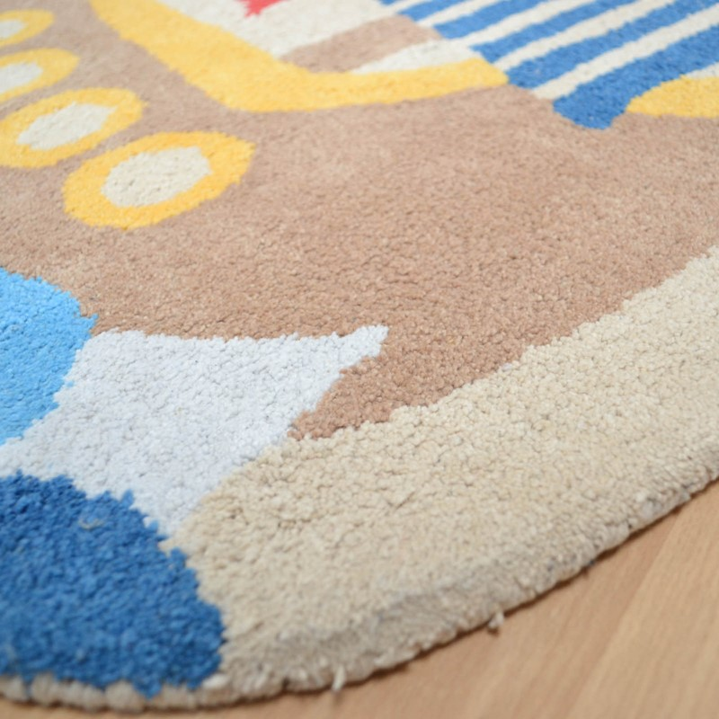 Candy Pirate Ship Rugs CC05 Buy Online From The Rug Seller Uk