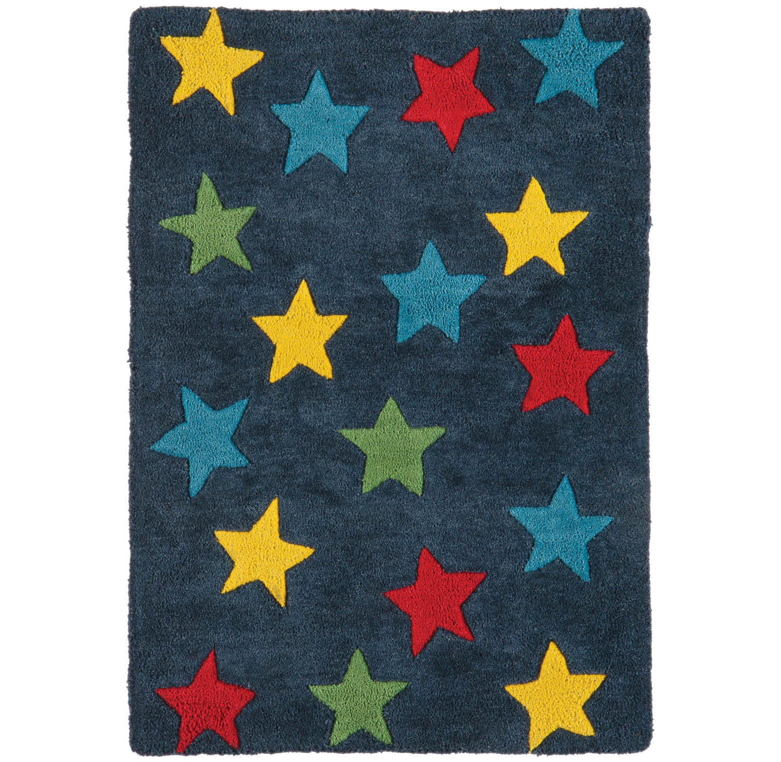 Candy Stars Rugs CC01 in Blue