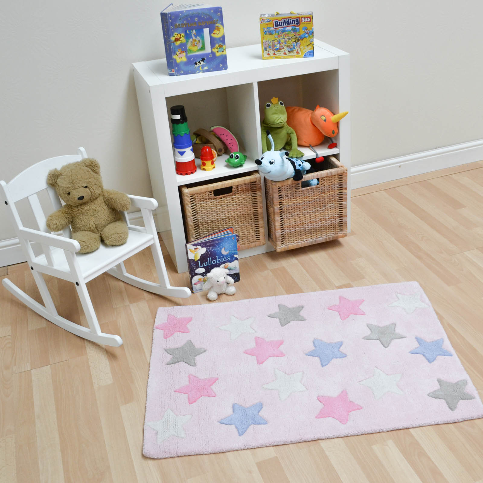 Candy Stars Rugs CC02 in Pink