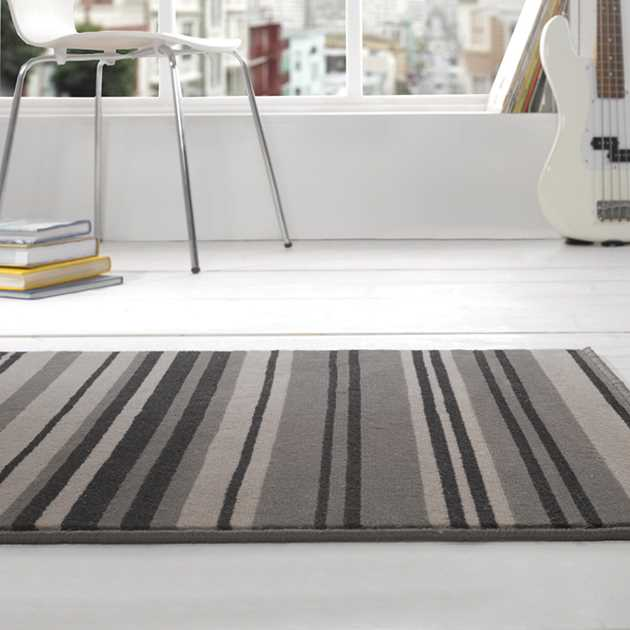 Element Canterbury Rugs in Grey