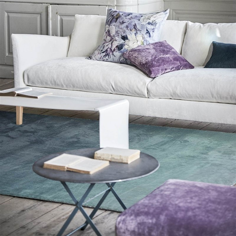 Capisoli Teal Rug By Designers Guild Buy Online From The