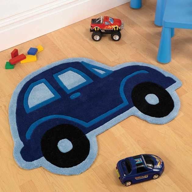 Car Boy Childrens Rugs