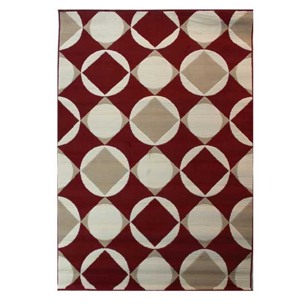Element Carnaby Rugs in Red
