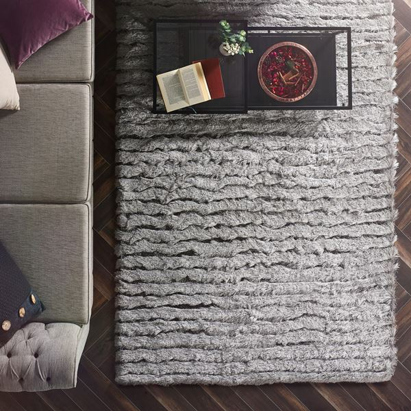 Carved Glamour Shaggy Rugs With Free Uk Delivery From The
