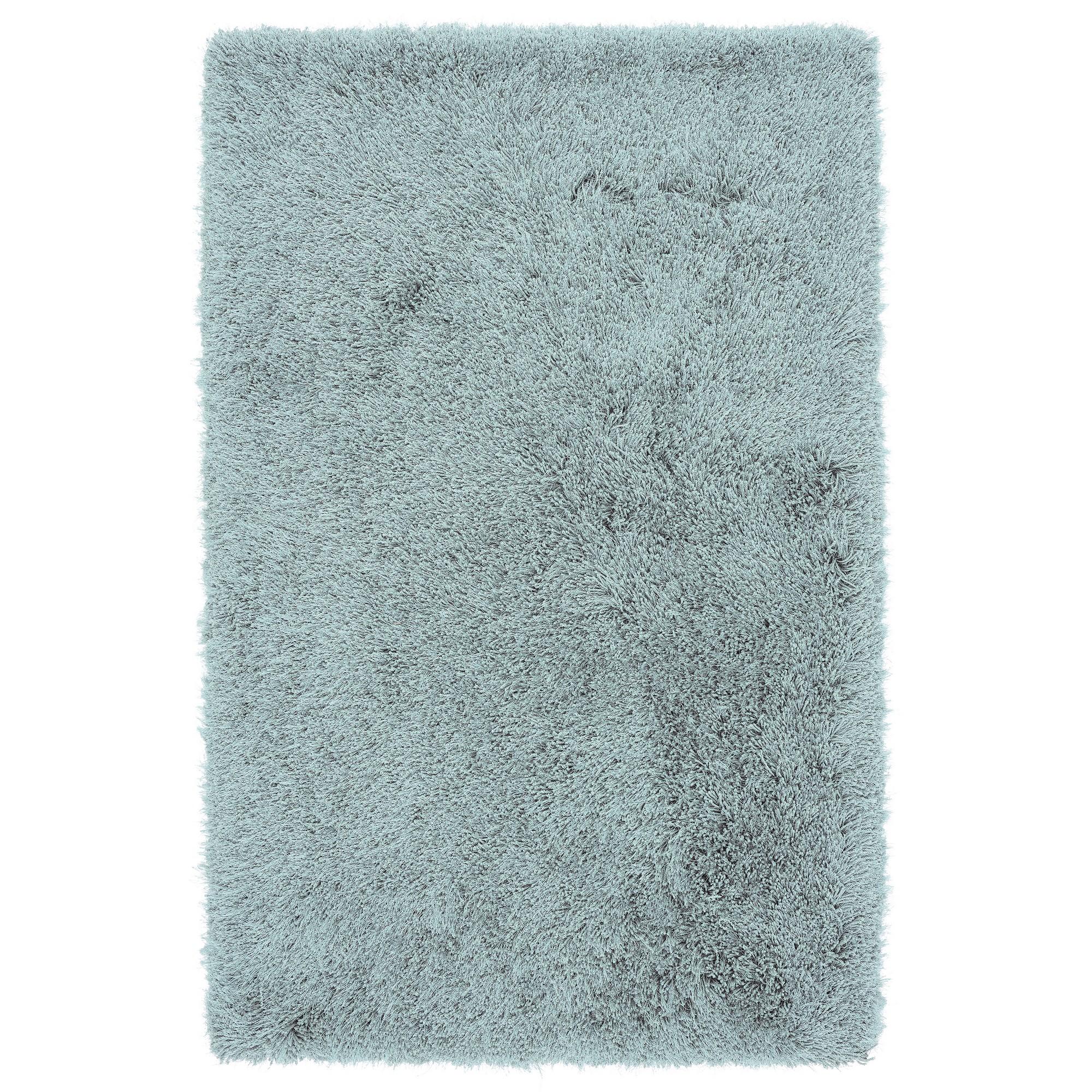 Cascade Shaggy Rugs in Duck Egg Blue