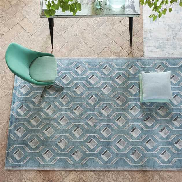 Chareau Ocean Rugs by Designers Guild