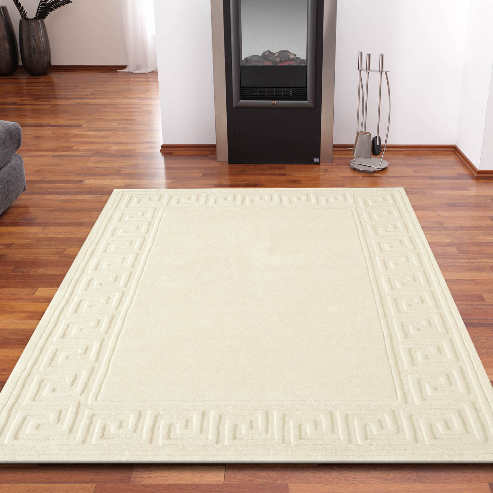 Classic Rugs in Ivory