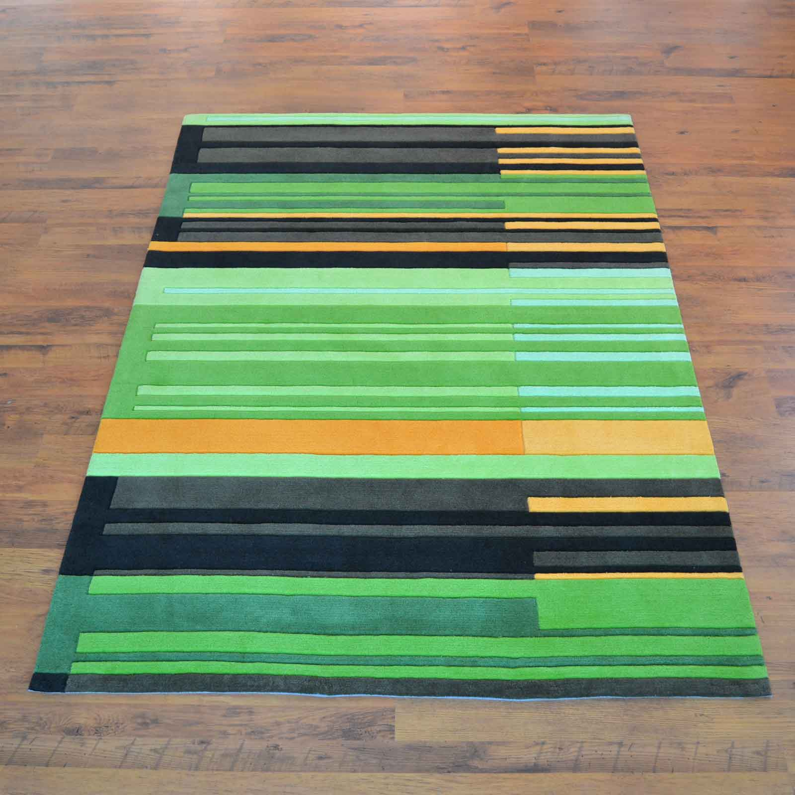 Colour Codes Rugs 4066 61 in Green