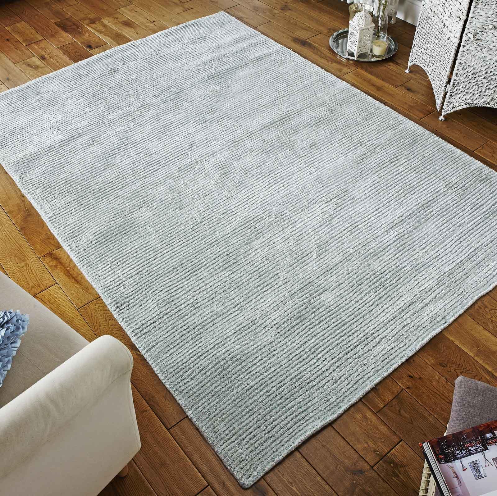 conran rug in duck egg blue free uk delivery the rug. Black Bedroom Furniture Sets. Home Design Ideas