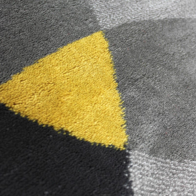 Cocktail Cosmo Rugs In Grey And Ochre Buy Online From The
