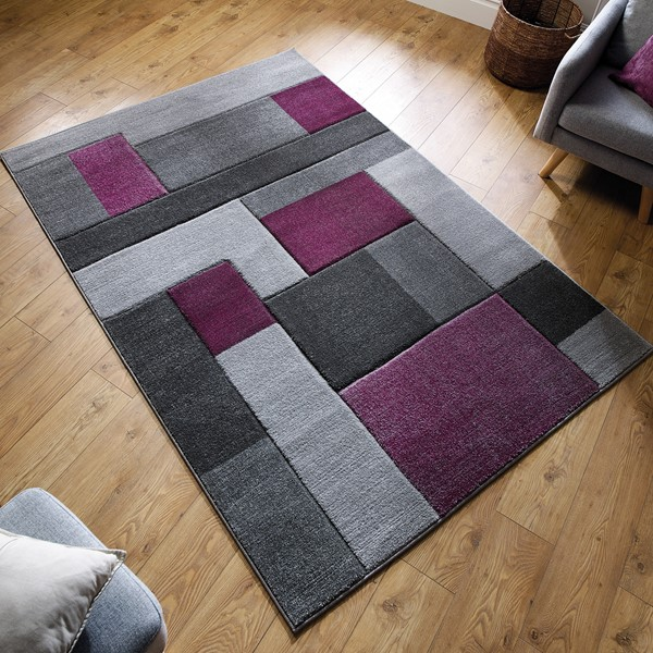 af01ca1f9d Purple Rugs | Shop Online With Free UK Delivery at The Rug Seller