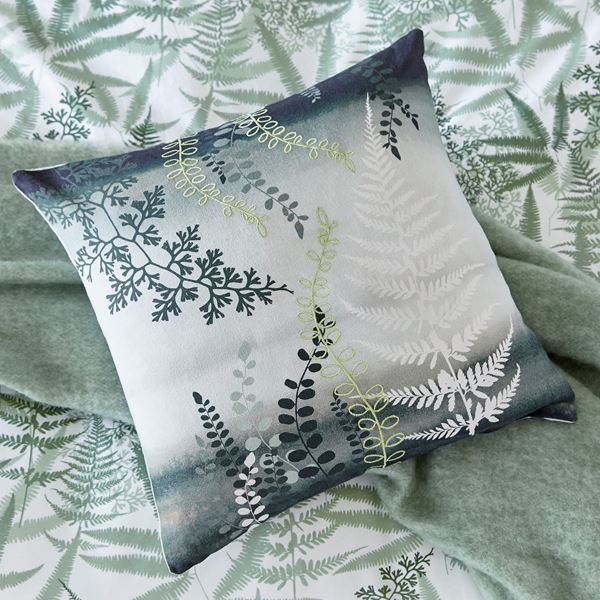 Costa Rica Fern Cushion - Green