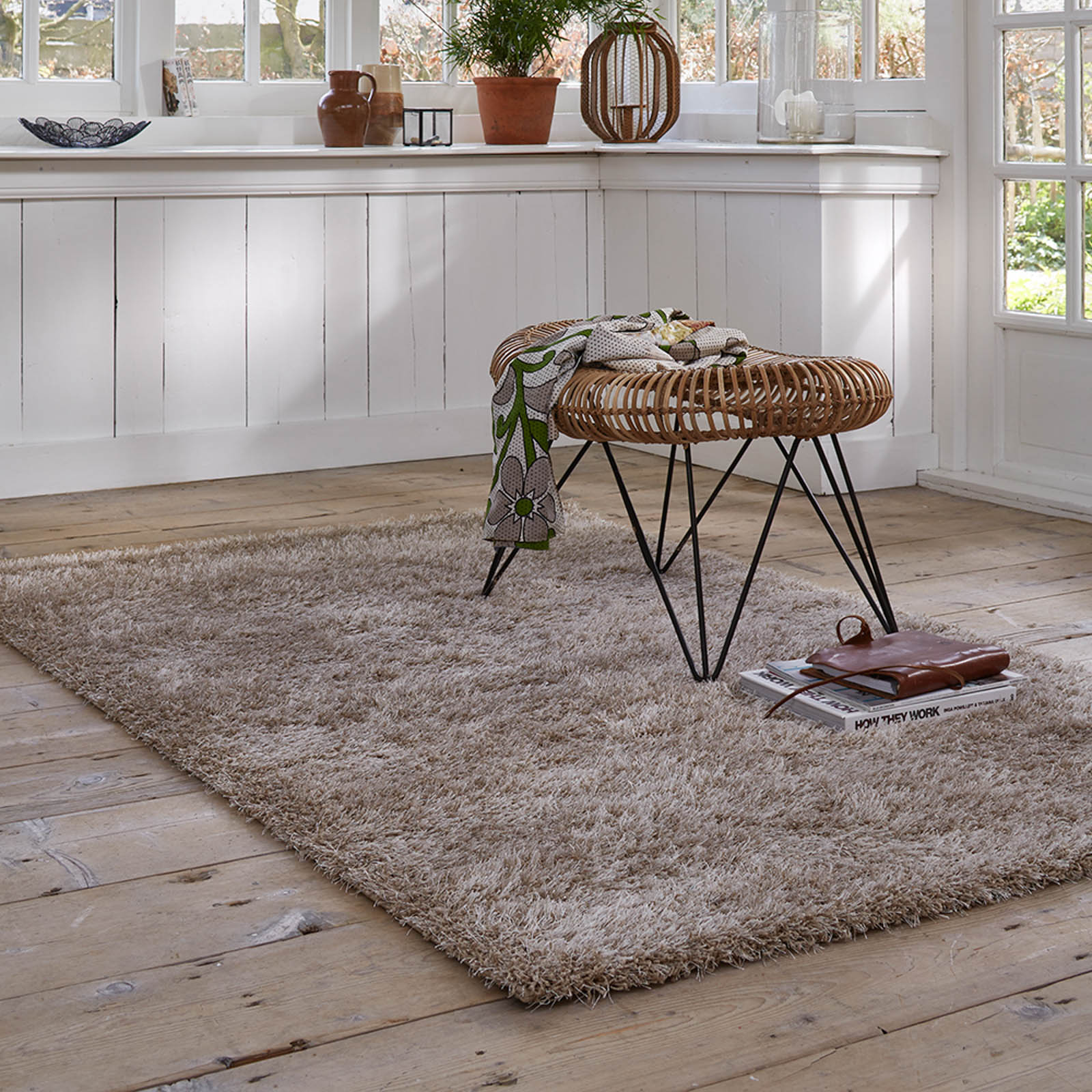 Esprit Cosy Glamour Rugs 0400 70 Sand